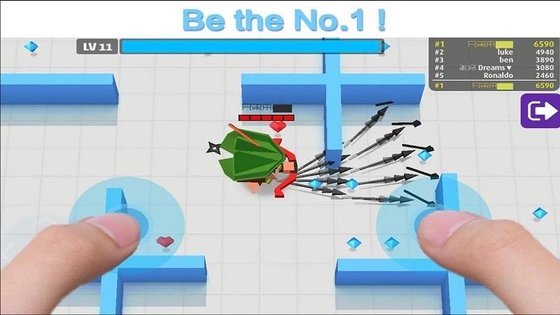 弓箭手大作战1.9.8内购版游戏截图