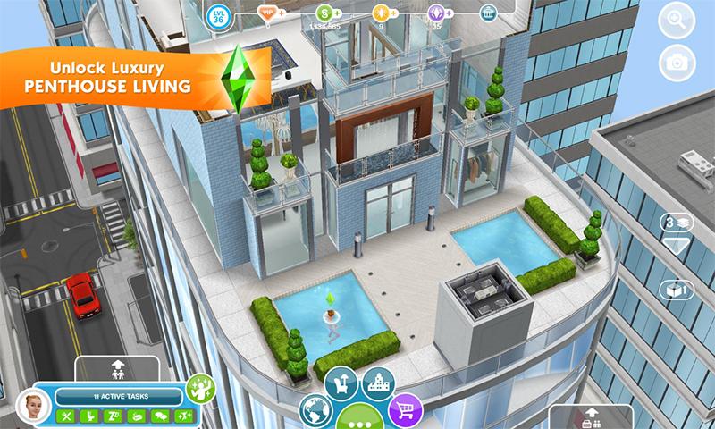模拟人生4游戏截图