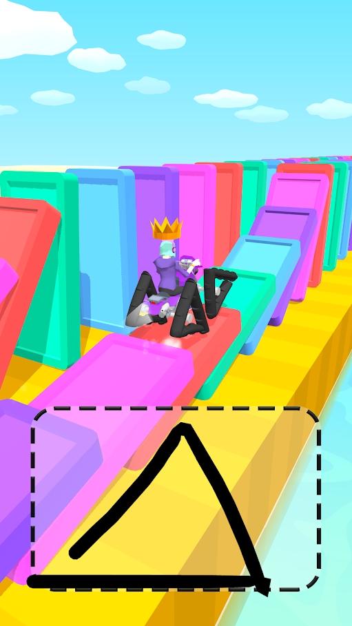 涂鸦骑士3d版破解版无限金币版游戏截图