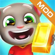 汤姆猫跑酷破解版无限金币和钻石和角色版图标