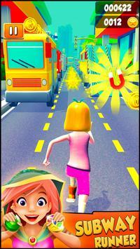 Subway Princess Runner游戏截图