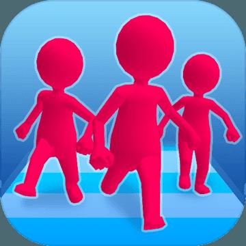 加入和冲突3D图标