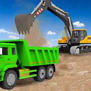 砂挖掘机卡车驾驶拯救模拟器图标