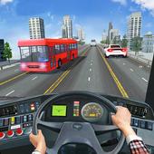 城市公交车图标