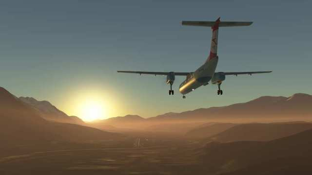 无限飞行游戏截图