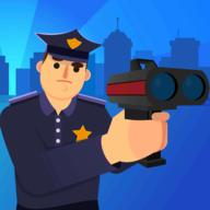 警察游戏3D图标