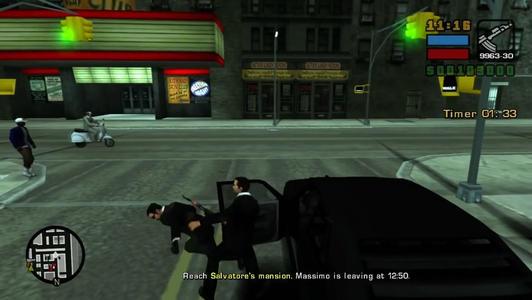 侠盗猎车手自由城故事游戏截图