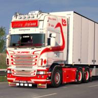 欧洲卡车驾驶模拟器3D图标