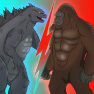 哥斯拉vs金刚:联盟图标