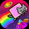 彩虹猫之太空旅行图标