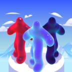水滴流道3D图标