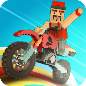 3D摩托骑士图标