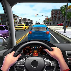 城市驾驶3D图标
