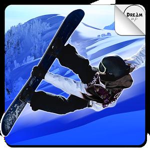 超级滑雪板图标