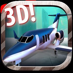 3D喷气停车模拟器图标