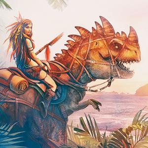 侏罗纪生存岛进化3D PRO图标