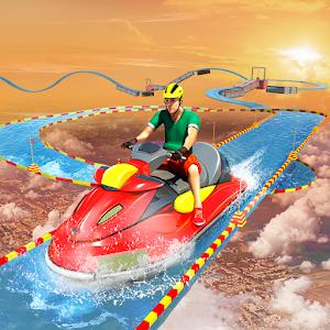 不可思议的水上摩托艇竞赛图标