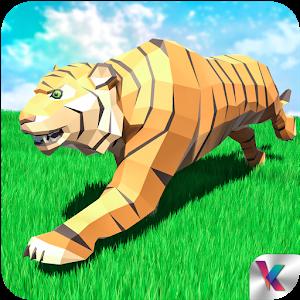 老虎模拟幻想森林