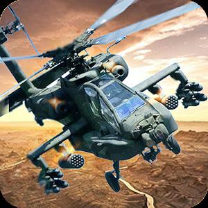 武装直升机突袭3D图标