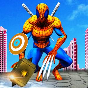 混合超级英雄图标