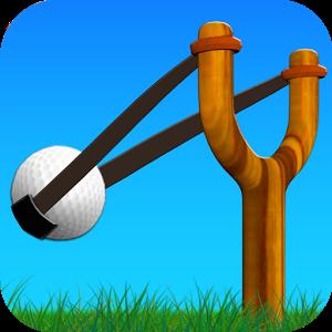 迷你高尔夫球图标