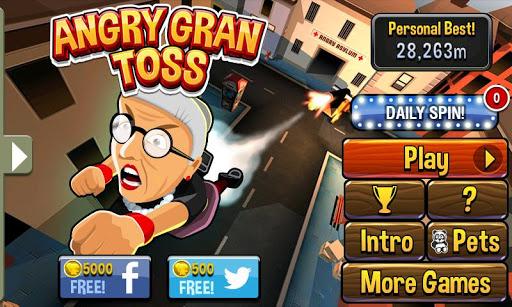 愤怒的老奶奶向前冲游戏截图
