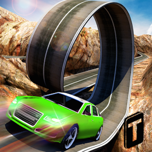 3D城市特技赛车