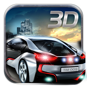 城市车手3D图标