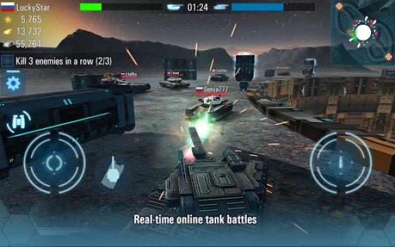 未来坦克大战游戏截图
