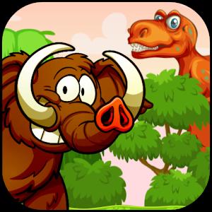 猛犸象丛林奔跑