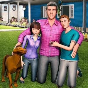 虚拟家庭模拟图标