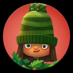 小绿帽图标