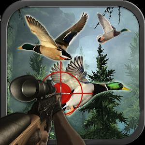 鸭丛林狩猎图标