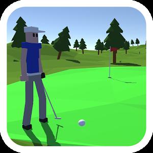 有趣的高尔夫球图标