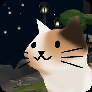 猫猫与鲨鱼: 可爱的3D图标