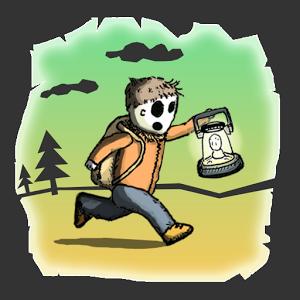 提着灯笼的幸存者图标