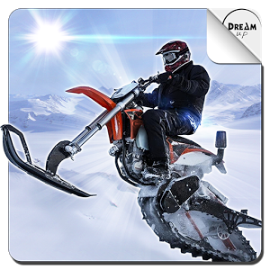 雪地摩托赛图标