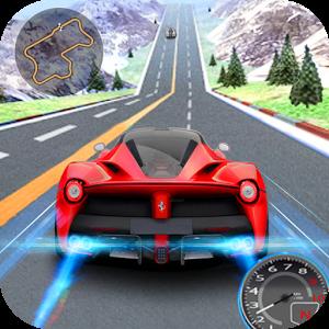Racing car for 3D