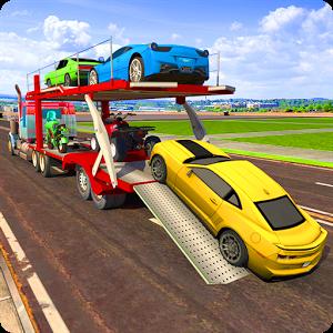 汽车运输车模拟器图标