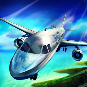 真实飞行模拟3D图标
