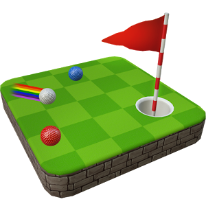和朋友一起打高尔夫球图标