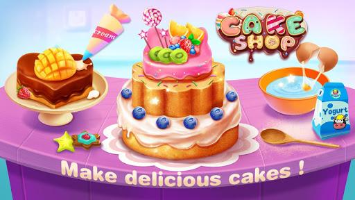 儿童烹饪蛋糕店游戏截图